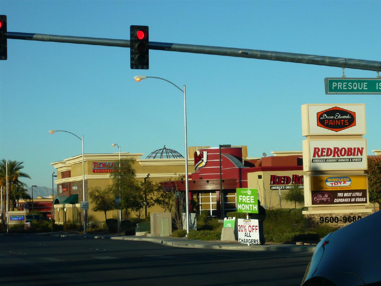 レッドロビンのハンバーガー in Las Vegas その1