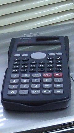関数電卓のメモリー周りのバグ問題と解決法を素人が妄想する ・ ある日の相棒達 その2 / CASIO fx-290-N