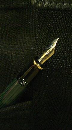 ペリカン スーベレーン M400 緑縞 とペンクリニック / ある日の相棒達  その3