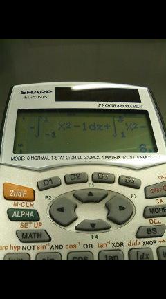 カスタマイズできる関数電卓 SHARPのナチュラル入力方式電卓 / SHARP プログラマブル電卓 EL-5160SX