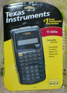 TI-30Xa スタンダード関数電卓 / TI-30Xa  Texas Instruments