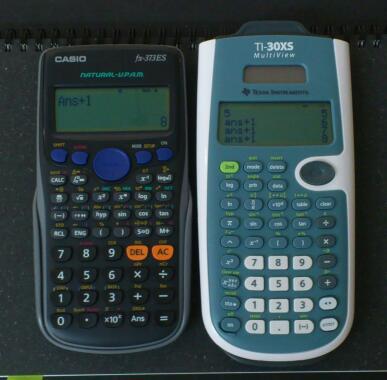 TI-30XS の第一印象と特徴的な挙動 / Texas Instruments TI-30XS