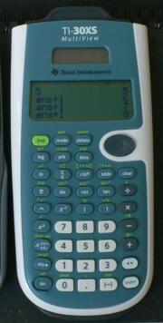 TI-30XS  2つの記憶を持つ忠実なる機械