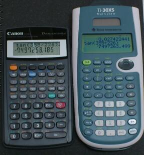 最近 出番が多い2台(本当はあと2台も稼働中だけど)/  Canon F-720i と TI-30XS