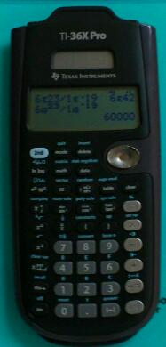 TI-36X Pro をようやく開封しました。 Texas Instruments TI-36X Pro