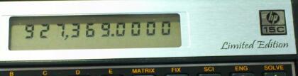 謎の数値とか、f g キー改修 とか、キーアサインとか / hp 15c Limited Edition