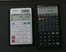 CASIOの関数電卓の血統 / CASIO SL-310A