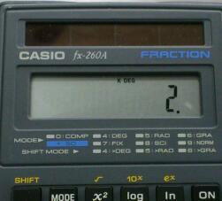 [=]キーはスタックをクリアしない?  / CASIO fx-260A ,SHARP EL-501E ,501J