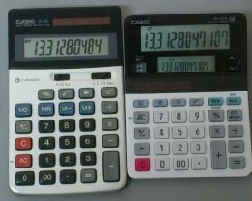 メモリ([M+]キー)がない電卓の本気度 / CASIO ツイン液晶電卓 ミエミエくん の一番小さいヤツ MV-220W