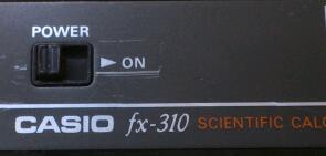 手負いの関数電卓復活顛末記 / CASIO fx-310