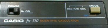 関数電卓完全復活顛末記 その2 / CASIO fx-310