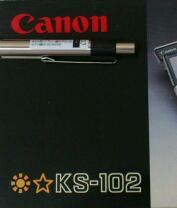 [ RV ] キーを持つキヤノンの電卓 / Canon KS-102