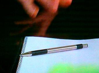 劇中のゼブラのボールペン / F-301