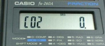 CASIO fx-260A