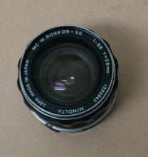 ミノルタ 単焦点レンズ / Minolta MC W.ROKKOR-SG 1:3.5 f=28mm