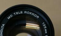 MINOLTA TELE ROKKOR 135mm 1:3.5 Φ4.9mm