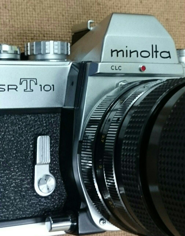 minolta SR-T 101 / 10ドルカメラで遊ぶ