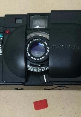 オリンパス XA  整備ほぼ完了 / 0ドルカメラで遊ぶ
