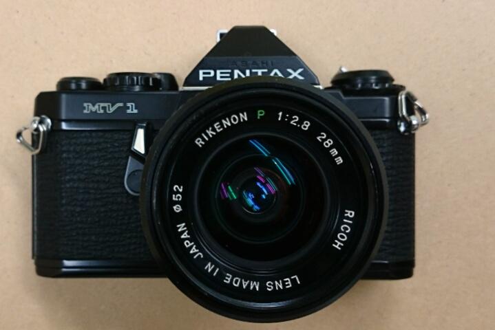 ペンタックス MV1 + リケノン 28 mm / PENTAX MV1 + RIKENON P 28 / 2.8