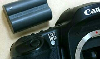 Canon EOS 10D 復活顛末記 その4 バッテリー編2 / 10 ドルカメラで遊ぶ