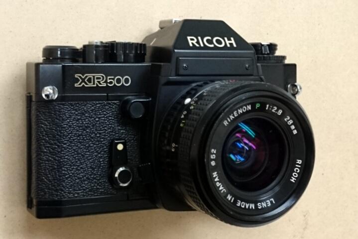 RICOH XR500 + RIKENON P 28/2.8