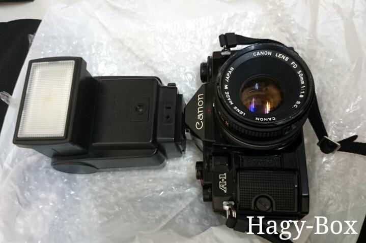Canon A-1 + 199A