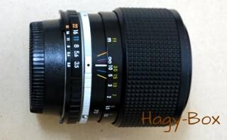 リトル ニコン その3レンズ編 / Nikon E ZOOM 36-72/3.5