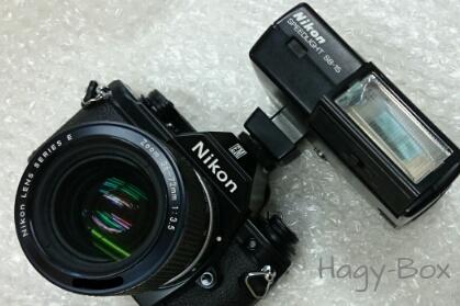 リトルニコン + SB-15 / Nikon EM + SB-15