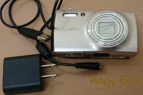 リコー CX4 その2, バッテリーチャージャー編 / OLYMPUS STYLUS VH-515