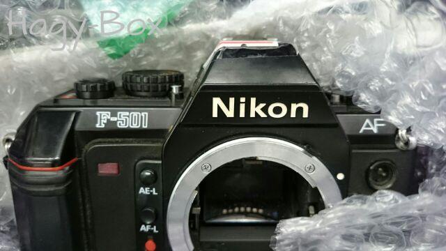 序章,F-501AF 様をお迎えしました。 / Nikon F-501AF