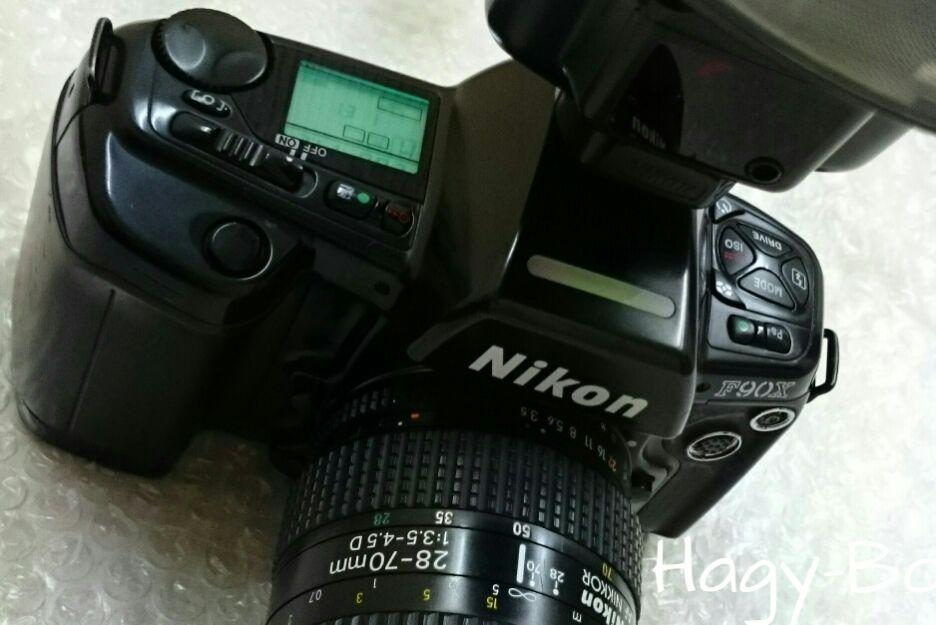 ついに銀塩ニコンの FP 発光をてにいれた。前編 / Nikon F90Xd + SB-26