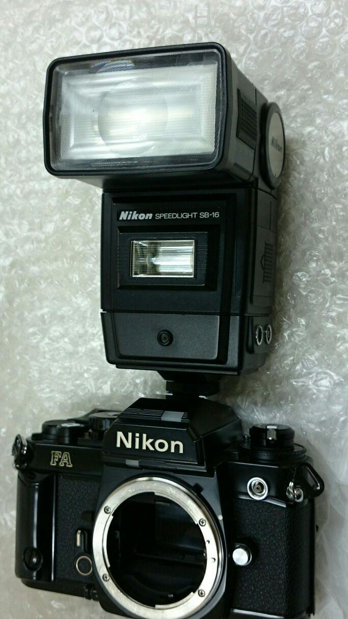 Nikon Speedlight SB-16B で キヤノンの Speedlite を考える
