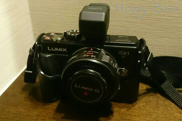 GX1 にビューファインダーを買ってやりました。/ Panasonic Lumix DMC-GX1 + LVF2