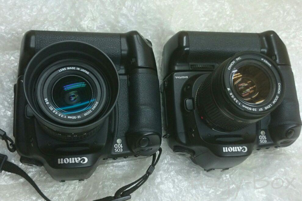 Canon EOS 10D が2台になっていました。/ Canon EOS 10D + BG-ED3