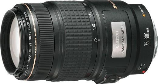 望遠ズームレンズを求めて その 3 / Canon EF75-300mm F4-5.6 IS USM